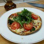 Pizza légère sans gluten / – de 400 calories