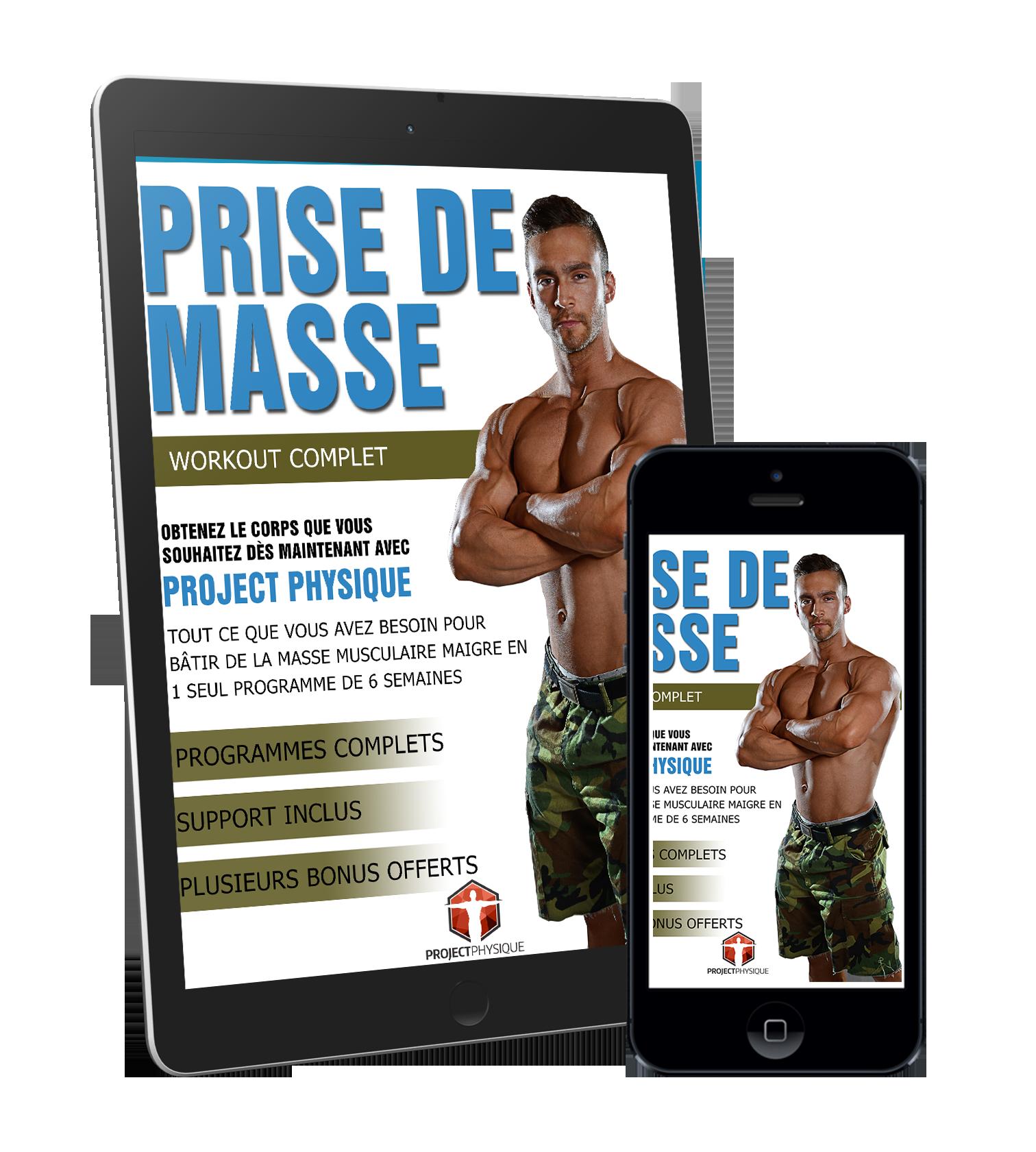 Prise de masse niveau i project physique - Programme alimentaire prise de masse musculaire ...
