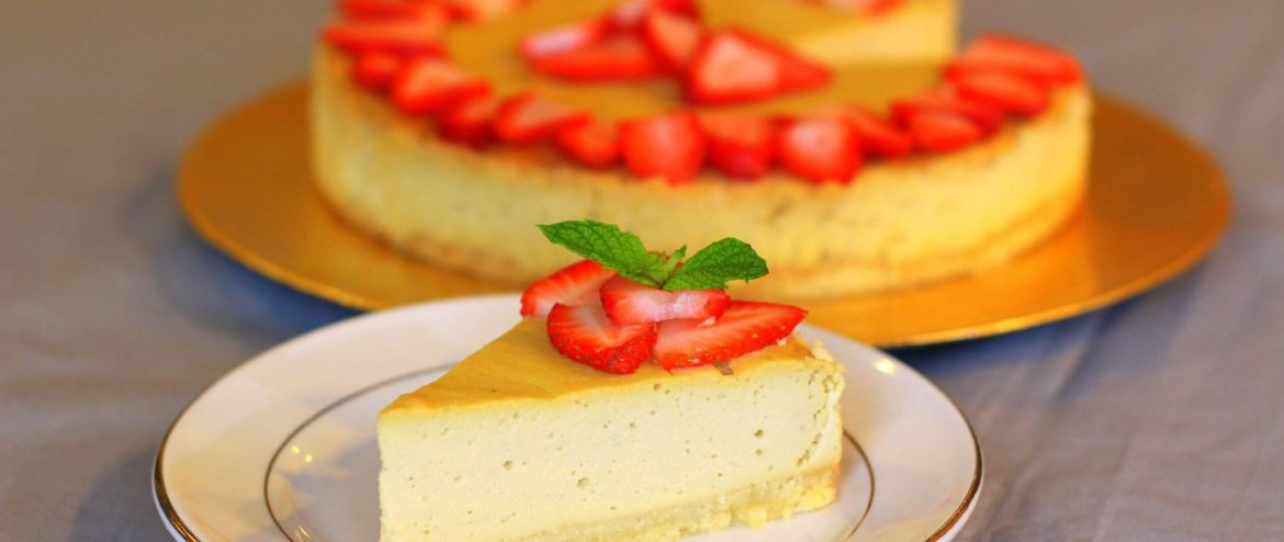 cheesecake sans fromage