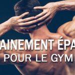 Entraînement d'Épaules – Au Gym