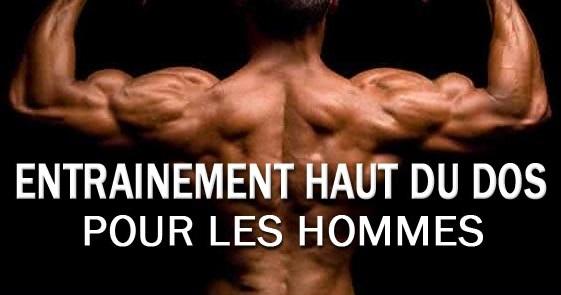 workout upper back